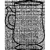 Mug Doodle Template 004