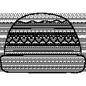 Hat Doodle Template 012