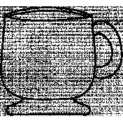 Mug Doodle Template 007