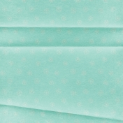 Memories & Traditions- Teal Snowflakes Paper