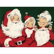Memories & Traditions- 4x3 Santa Journal Card