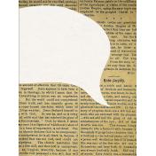 Memories & Traditions- 3x4 Speech Bubble Journal Card