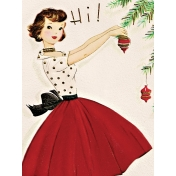 Memories & Traditions- 3x4 Tree Decorating Journal Card