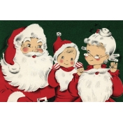 Memories & Traditions- 6x4 Santa Journal Card
