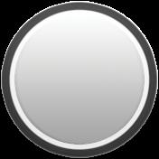 Toolbox Calendar - Date Sticker Kit - Base Stickers - Black Thick Border