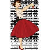 Memories & Traditions- 50's Woman Ephemera 2