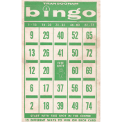 Memories & Traditions- Bingo Card