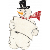 Memories and Traditions- Snowman Ephemera