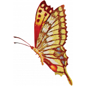 Toolbox Needlework- Yellow Butterfly