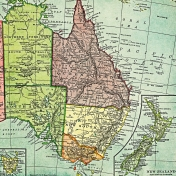 Toolbox Papers- Australia Map Right