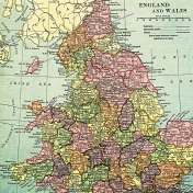 Toolbox Papers- England Map