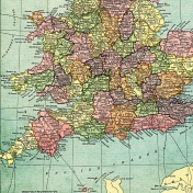 Toolbox Papers- England Map Lower