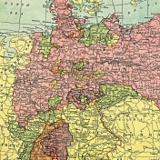 Toolbox Papers- Germany Map Left