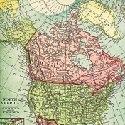 Toolbox Papers- North America Map