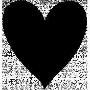 Heart Shape Mask 009