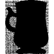 Mug Shape Mask 003