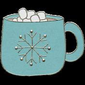 Winter Fun- Hot Chocolate Doodle
