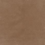 Winter Fun- Brown Polka Dot Paper