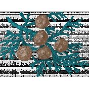 Winter Fun- Greenery Stamp