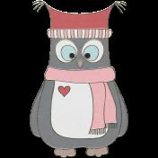 Winter Fun- Owl Doodle