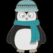 Winter Fun- Penguin Doodle