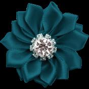 Winter Fun- Silk Flower 1