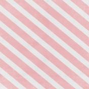 Winter Fun- Pink Stripes