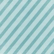 Winter Fun- Teal Stripe Paper