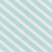 Winter Fun Light Teal Stripe Paper