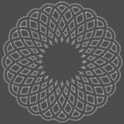 Doily Stitching Template 02