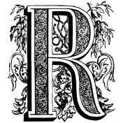 Letter Stamp Template 146