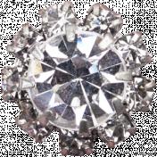 Memories & Traditions- Diamond Button
