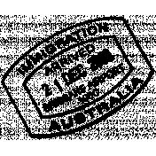 Passport Stamp Template 003