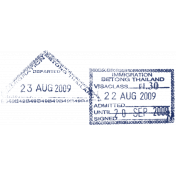 Passport Stamp Template 027
