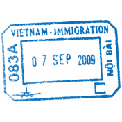 Passport Stamp Template 031