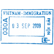 Passport Stamp Template 032