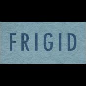 Winter Day- Frigid Word Art