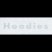 Winter Day- Hoodies Word Art