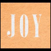 Winter Day- Joy Word Art