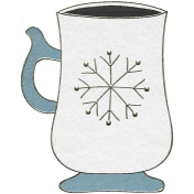 Winter Day- Mug Doodle 1