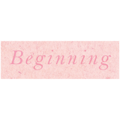 Spring Day- Beginning Word Art