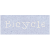 Spring Day- Bicycle Word Art