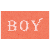 Spring Day- Boy Word Art