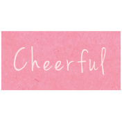 Spring Day- Cheerful Word Art