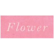 Spring Day- Flower Word Art
