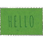 Spring Day- Hello Word Art