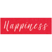 Spring Day- Happiness Word Art