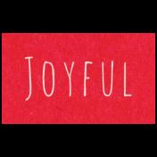 Spring Day- Joyful Word Art
