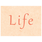 Spring Day- Life Word Art