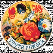 Spring Day- Tooth Powder Ephemera